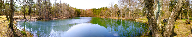 Crystal Spring Lake at Crystal Springs Wilderness Resort and RV Resort