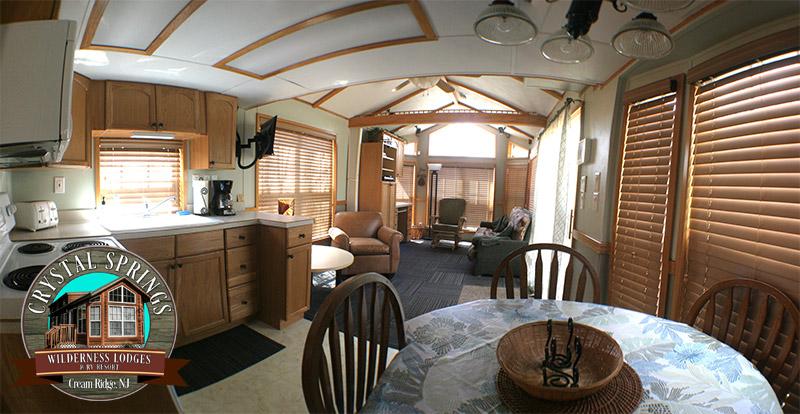 Inside of Crystal Springs Lodge